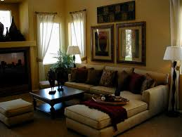 unique design curtains for living room with brown furniture ideas