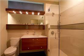mid century modern bathroom vanity and wall cabinet combo mid