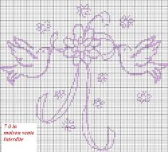 35 best point de croix alliance images on embroidery