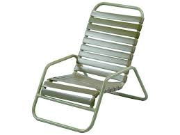 Windward Hannah Patio Furniture by Windward Design Group Country Club Strap Aluminum Sand Chair W0340