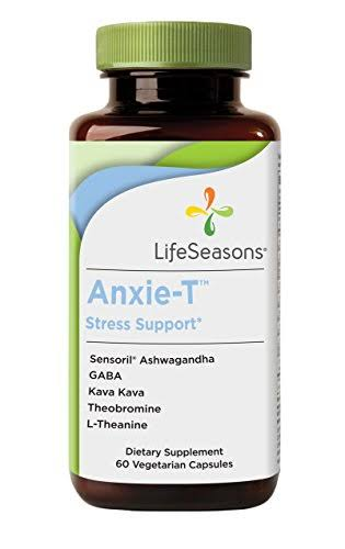 Lifeseasons Anxie-t Stress Support Dietary Supplement - 60ct