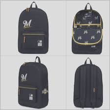 100 Truck Accessories Milwaukee Heritage Mlb Milwaukee Brewers Backpack Fresh Off The