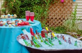 Summer DIY For Your Backyard: Wheelbarrow Cooler & Foil Smoker ... Patio Cooler Stand Project 2 Patios Cabin And Lakes 11 Best Beverage Coolers For Summer 2017 Reviews Of Large Kruses Workshop Party Table With Built In Beerwine Ice How To Build A Wood Deck Fox Hollow Cottage Diy Your Backyard Wheelbarrow Foil Smoker Outdoor Decorations Beer Wooden Plans Home Decoration 25 Unique Cooler Ideas On Pinterest Diy Chest Man Cave Backyard Our Preppy Lounge Area Thoughtful Place