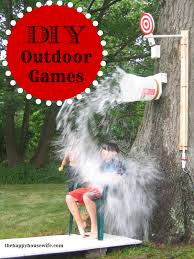 DIY Outdoor Games | Outdoor Games, Gaming And Buckets 25 Tutorials For A Diy Carnival The New Home Ec Games 231 Best Summer Images On Pinterest Look At The Hours Of Fun Your Box Could Provide With Game Top Theme Party Games For Your Kids Backyard Lollipop Tree Game Put Dot Sticks Some Manjus Eating Delights Carnival Themed Birthday Manav Turns 4 240 Ideas Dunk Tank Fun Summer Acvities Outdoor Parties And Best Scoo Doo Images Photo With How To Throw Martha Stewart Wedding Photography By Vince Carla Circus