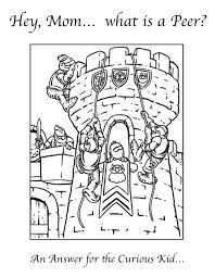Castles Coloring Pages For Teens And Adults