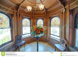100 Victorian Era Interior VICTORIA CANADA AUGUST 15 2017 Craigdarroch Castle