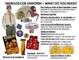 Cub Scout Committee Chair Patch Placement by Webelos Uniform Pack 807 Bel Air Maryland