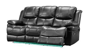 American Freight Reclining Sofas by Classic Flynn Power Sofa Lights In Premier Black 22 2177 30p Pbk