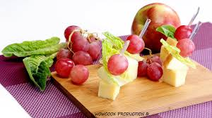 what does canape cheese and fruit canape