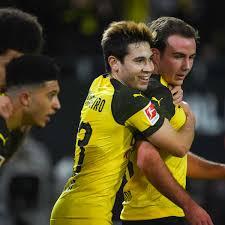 BVB Joker Mario Götze überzeugt Gegen Gladbach Als Torvorbereiter