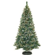 Vickerman Flocked Christmas Tree by Pre Lit 36