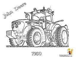 Coloriage Imprimer Tracteur Tondeuse Pour Coloriage De Tracteur New