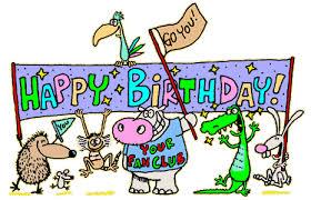 Happy Birthday Minions animated