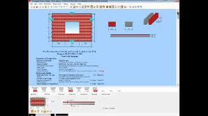 Wood Structure Design Software Free by Masterseries Masonry Structural Design Software Youtube