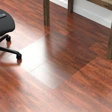 Clear Plastic Desk Protector Chair Beautiful Mat For Carpet Floors Hard Floor Roll N Go
