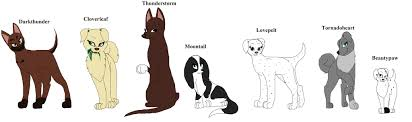 warrior cat names adoption warrior cat names free open points by thewarriordogs on