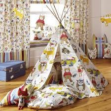 tissu pour rideaux d ameublement à motif animalier pour