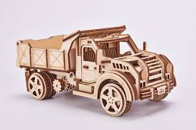 100 Wood Trucks Truck Wooden Model Kits Eco Friendly 3d Puzzle By Trick
