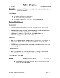 Criminal Justice Resume Objective Examples 13 Charming Great Templates