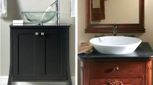 Bathroom Vanity Sinks Leather And Marble The Perfect Mix For