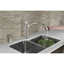 Moen Voss Faucet Specs by Moen 9125srs Voss Spot Resist Stainless Pullout Spray Kitchen