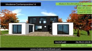 maison en cube moderne maison contemporaine moderne et design d architecte constructeur