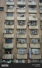 100 Apartments In Taiwan Old Apartment Taichung Image Photo Free Trial Bigstock
