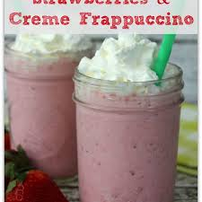 Copycat Starbucks Strawberries Creme Frappuccino Recipe