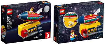100 Lego Space Home FREE LEGO Rocket Ride Set W9985 Purchase Promotion