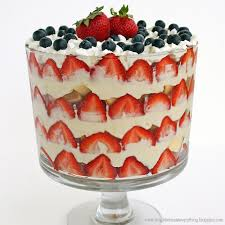 Patriotic Trifle Dessert The Girl Who Ate Everything