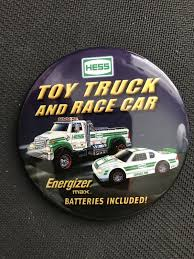 HESS TOY TRUCK And Race Car Button - $2.00 | PicClick