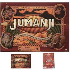Original Jumanji Action Board Game W Accessories Family Children Gift Toys NEW