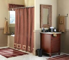Country Style Shower Curtains Gorgeous Primitive And French