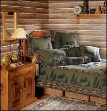 Lodge And Cabin Bedding Log