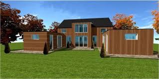 maison ossature bois cle en des maisons ossature bois pas chere et economique en kit ou clef