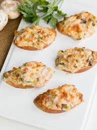 canape recipes crab canapés s dish