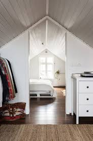 The Bedroom Has A Bed That Anthony Built Of Old Pallets Houses Attic