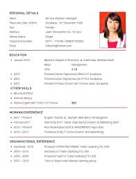 Resume Format Teacher In Word Free Download Curriculum Vitae Template For Teachers Sample Philippines Resu
