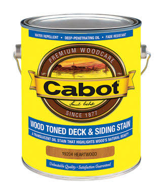 Cabot Deck & Siding Stain - Heartwood, 1Gal