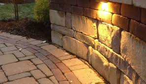 retaining wall lighting ideas oregonuforeview