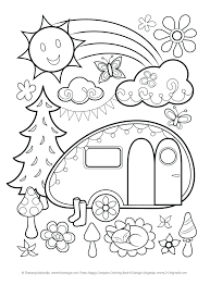 Coloring Pages Disney Cars Online Free Printable Happy Campers Page Games Full Size