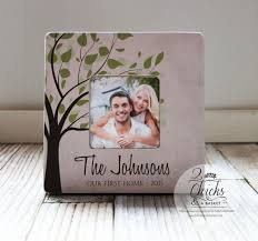 Our First Home Picture Frame Couple Gift Idea