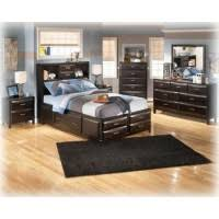 Kira Queen Storage Bed by Kira California King Storage Rails B473 95 Underbed Storage