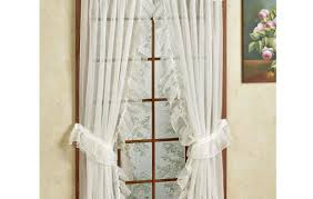 Lace Priscilla Curtains With Attached Valance by Priscilla Curtains Country Priscilla Curtains Spaces Traditional