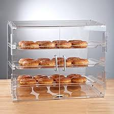 Premier Choice 3 Tray Bakery Display Case With Doors Length 21 X Width 17