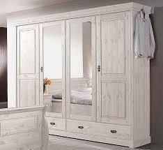 massivholz schlafzimmer komplett set kiefer massiv weiß neu
