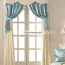 European Cafe Window Art Curtains by Section European Luxury Curtain