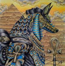 I Love Ancient Egypt Fantasiacoloringbook Fantasia Nickfilbert Nicholasfilbertchandrawienata Antistresscoloringbook Antistress Adultcoloring