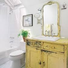 Shabby Chic White Bathroom Vanity by 29 Vintage And Shabby Chic Vanities For Your Bathroom Digsdigs