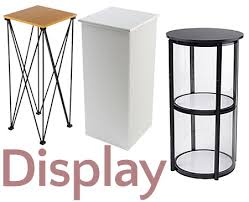 Collapsible Display Stands Portable Cases